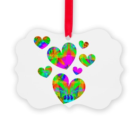 hearts5.png Picture Ornament