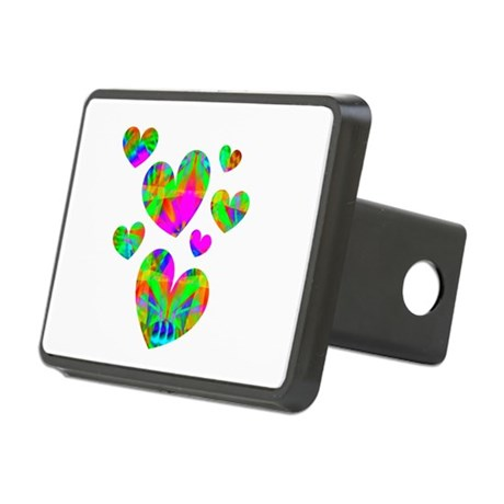 hearts5.png Rectangular Hitch Cover