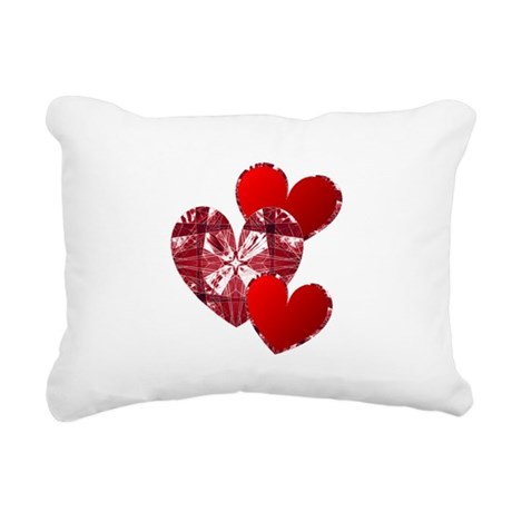 heart9c.png Rectangular Canvas Pillow