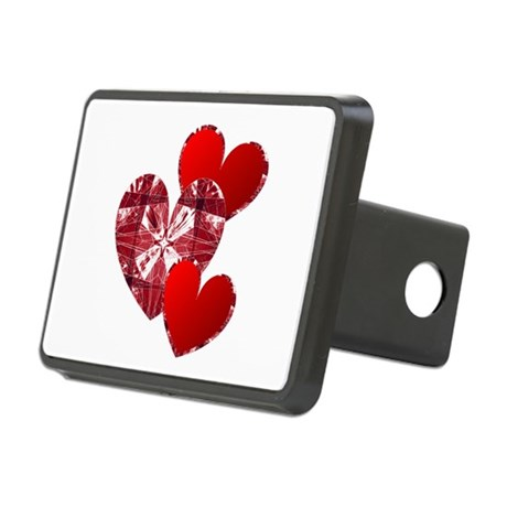 heart9c.png Rectangular Hitch Cover