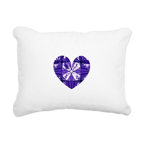 heart9b.png Rectangular Canvas Pillow