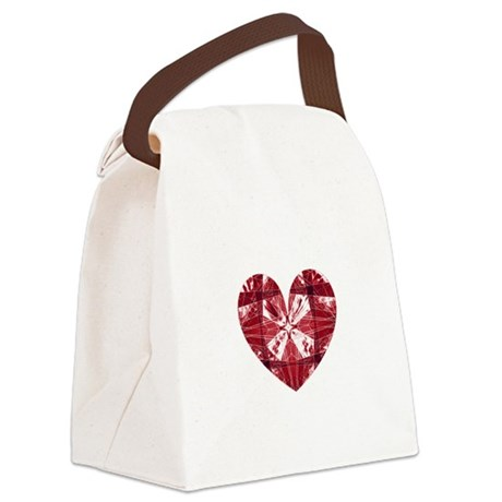 heart9a.png Canvas Lunch Bag
