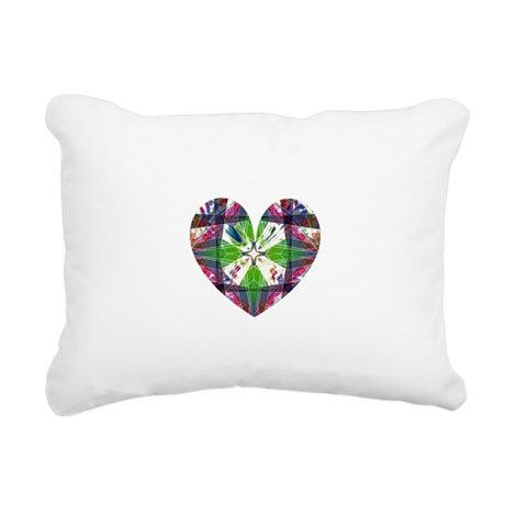 heart9.png Rectangular Canvas Pillow