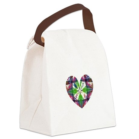 heart9.png Canvas Lunch Bag