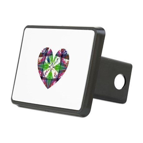 heart9.png Rectangular Hitch Cover