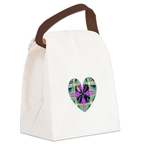 heart8.png Canvas Lunch Bag