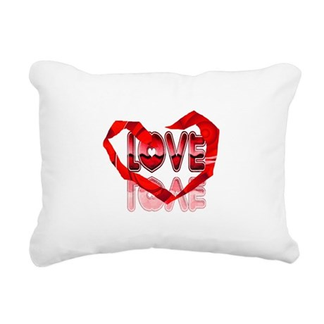 heart7e.png Rectangular Canvas Pillow