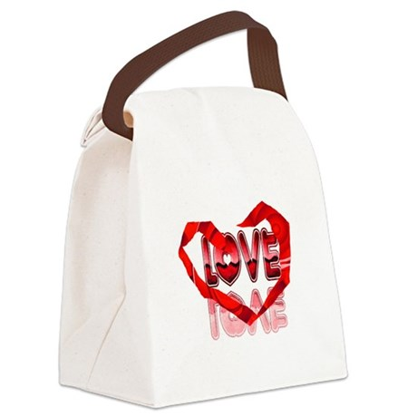 heart7e.png Canvas Lunch Bag