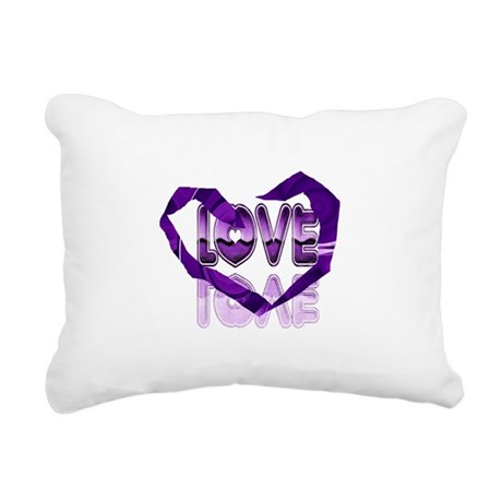 heart7c.png Rectangular Canvas Pillow
