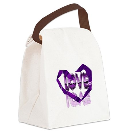heart7c.png Canvas Lunch Bag