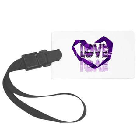 heart7c.png Large Luggage Tag
