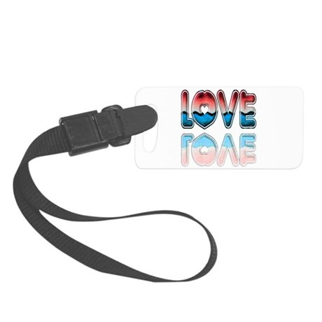 love4a.png Small Luggage Tag