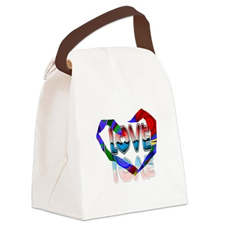 heart7b.png Canvas Lunch Bag