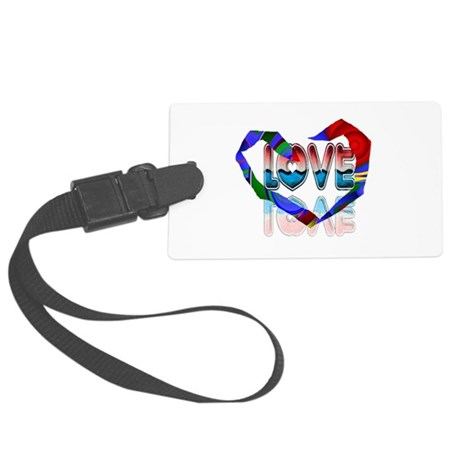 heart7b.png Large Luggage Tag