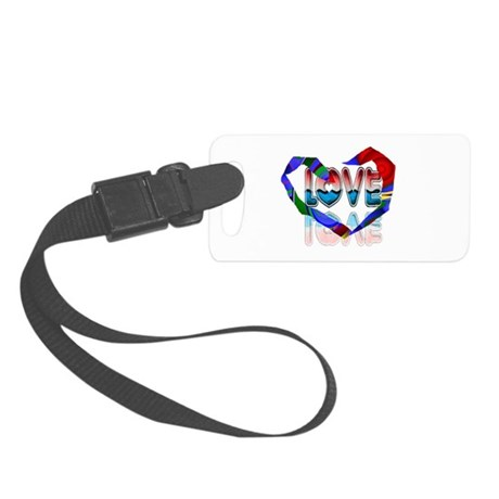 heart7b.png Small Luggage Tag
