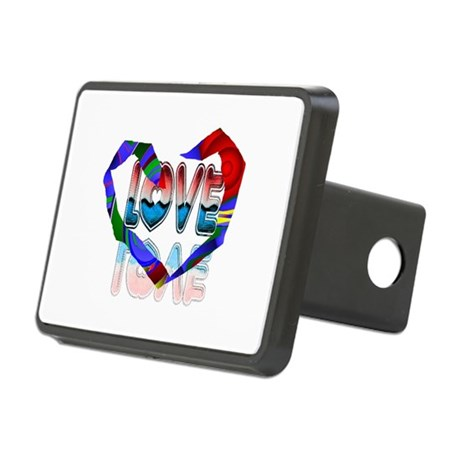 heart7b.png Rectangular Hitch Cover