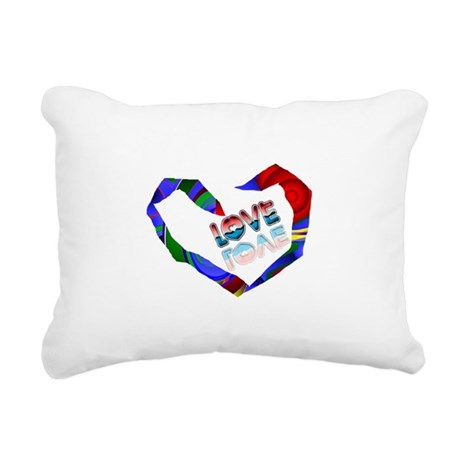heart7a.png Rectangular Canvas Pillow