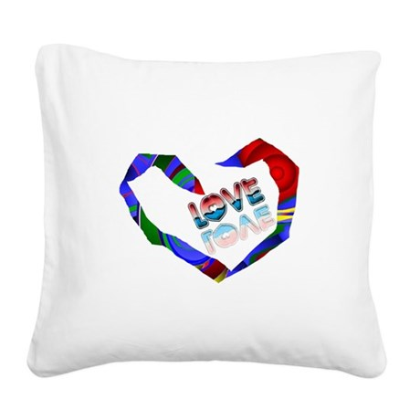 heart7a.png Square Canvas Pillow