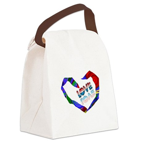 heart7a.png Canvas Lunch Bag
