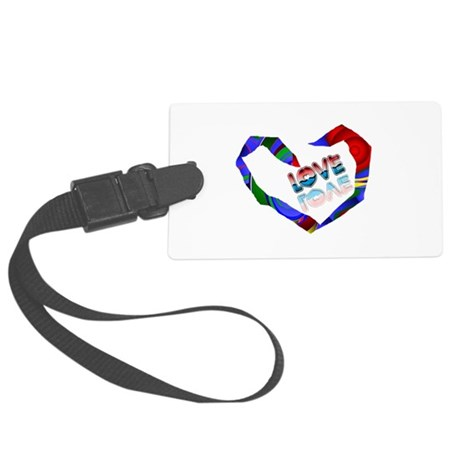 heart7a.png Large Luggage Tag