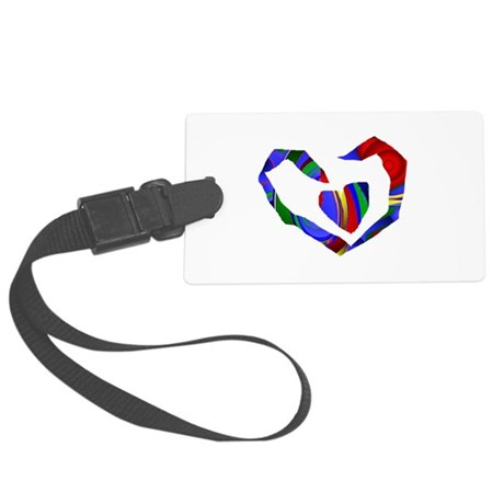 heart7.png Large Luggage Tag