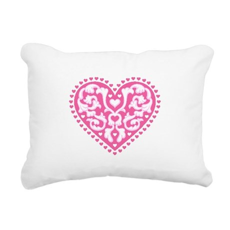 heart3.png Rectangular Canvas Pillow