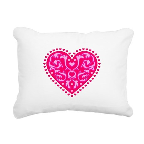 heart2.png Rectangular Canvas Pillow