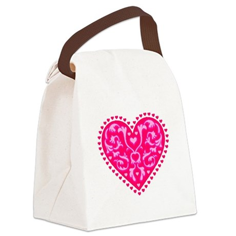 heart2.png Canvas Lunch Bag