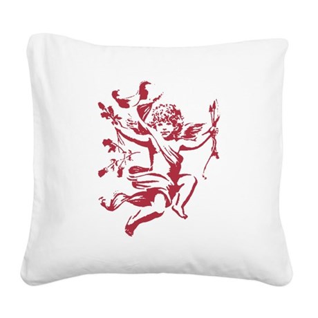 cupid3.png Square Canvas Pillow