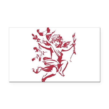 cupid3.png Rectangle Car Magnet