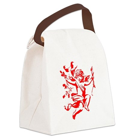 cupid2.png Canvas Lunch Bag
