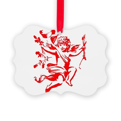 cupid2.png Picture Ornament