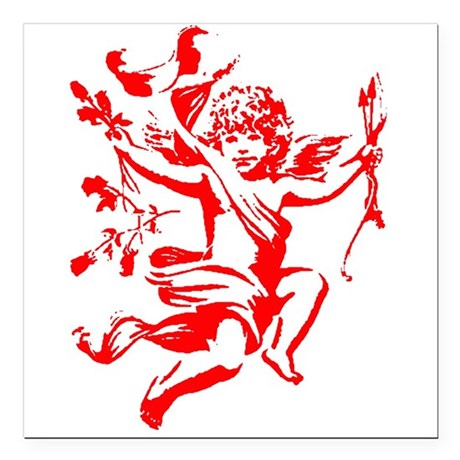 cupid2.png Square Car Magnet 3&quot; x 3&quot;