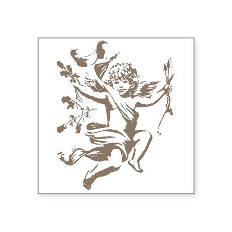 "cupid.png Square Sticker 3"" x 3"""