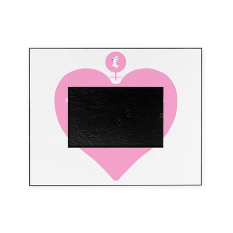 Women Created Heart Picture Frame