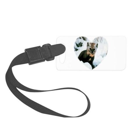 baby fox Small Luggage Tag