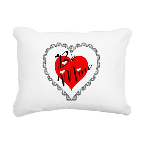 heart Rectangular Canvas Pillow