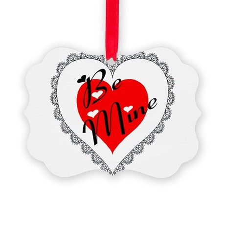 heart Picture Ornament