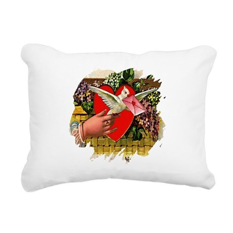Valentine Rectangular Canvas Pillow