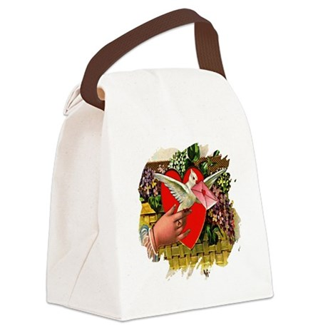 Valentine Canvas Lunch Bag