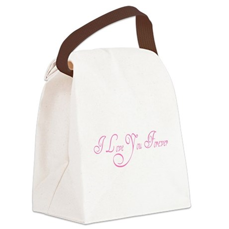 love forever Canvas Lunch Bag