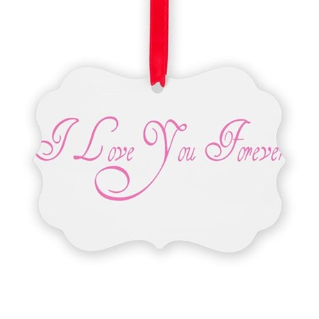 love forever Picture Ornament