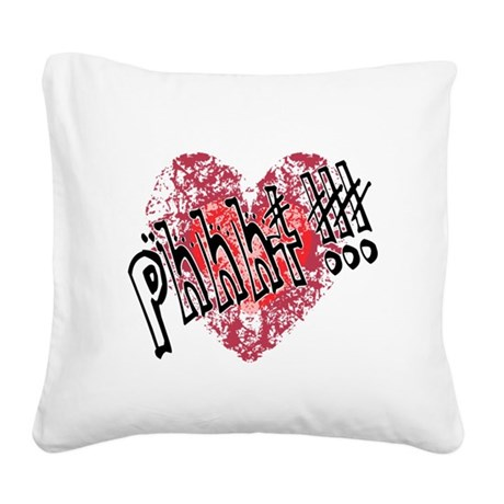 anti1a.png Square Canvas Pillow
