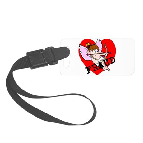 Cupid Fraud Small Luggage Tag