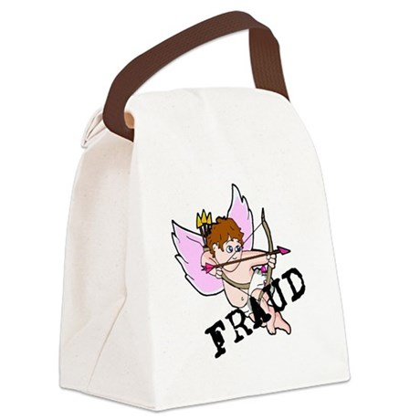 Cupid Fraud Canvas Lunch Bag