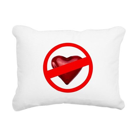 valentines Rectangular Canvas Pillow