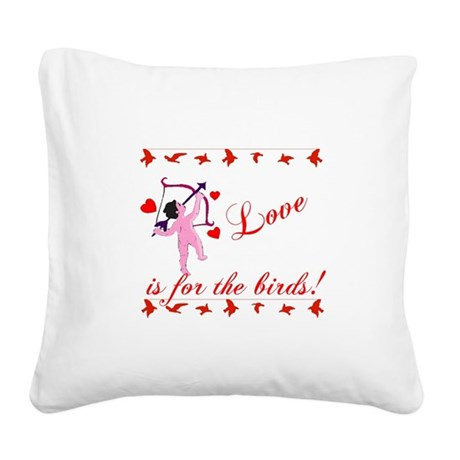 cupid Square Canvas Pillow