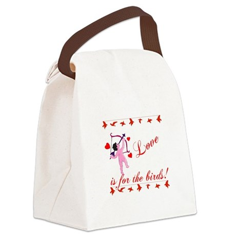cupid Canvas Lunch Bag