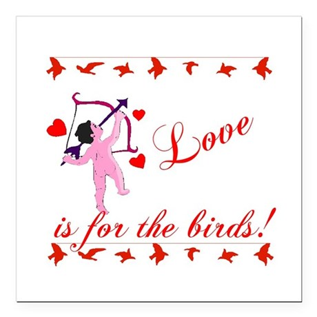 "cupid Square Car Magnet 3"" x 3"""