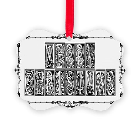 MerryChristmas.png Picture Ornament